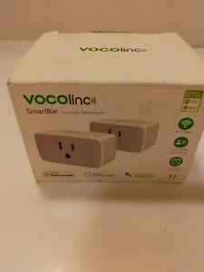 Vocolinc Pack of 2 SmartBar Smart Outlets