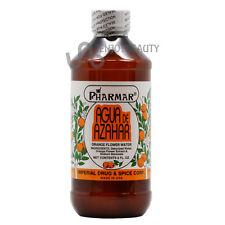 Agua De Azahar Orange Flower-Blossom Water 8oz w/FREE Nail File