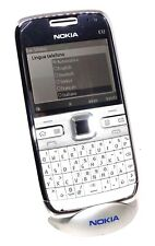 Nokia E72 White Deutsch QWERTZ Keypad NEW SWAP ORIGINAL UNLOCKED