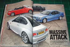 BMW Car 2007 Alpina B2 E93 ACS3 E92 320d 2002 E92 M3 v E46 M3 v E36 M3 v E30 M3