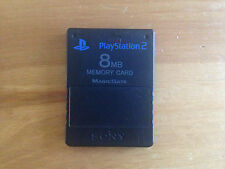 PS2 SONY Official GENUINE Memory Card - 8MB - Tested - FREE P+P