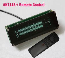 AK7115 VFD Music Audio Spectrum Stereo Level Indicator VU Meter Screen Clock AGC