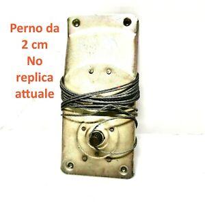 Meccanismo a fune alzavetro Autobianchi Bianchina 2a  Serie perno corto da 2 cm
