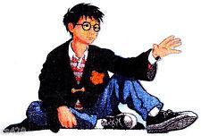 "10.5"" Harry Potter Logo HP Snitch Charakter Neuheit Stoff Applikation Iron on"