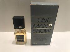 JACQUES BOGART ONE MAN SHOW 1 Oz/30ml EDT Spray Men's-PRE-OWNED-APPROX 87% FULL