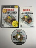 Rapala Pro Fishing Sony PlayStation 2 2004 PS2 Complete