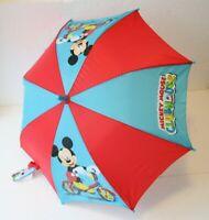 Disney Automatik Regenschirm Micky Maus Kinderschirm Mickey Clubhouse 75cm