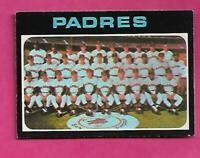 RARE 1971 OPC # 482 SAN DIEGO PADRES TEAM CARD NRMT CARD (INV# C5048)