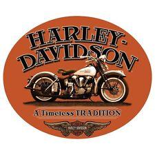 """Harley Davidson """"Timeless"""" Embossed Enamel Tin Metal Sign Motorcycle 781"""