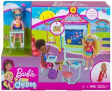 More details for barbie club chelsea school doll playset