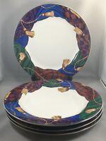 4 Vitromaster By Sue Zipkin Dinner Plates Curtain Call 1993