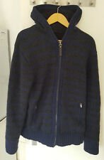 Selected Sweat Jacke Large dunkelblau grau