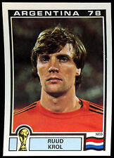 Argentina 78 Ruud Krol #115 World Cup Story Panini Sticker (C350)