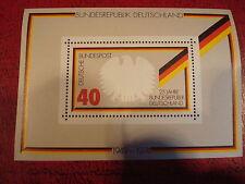 Germania - 1974-Minisheet-unmounted Nuovo di zecca condizione-EX.
