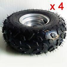 "4x 145/70- 6""inch Front Rear Wheel Rim Tyre Tire Quad Dirt Bike ATV Buggy Gokart"