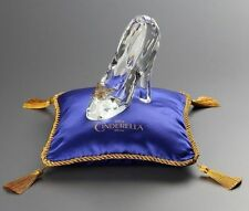 Disney Cinderella Glass slipper Blue Cushion Set figure Limited Licensed Japan