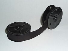 ROYAL PORTABLE TYPEWRITER RIBBON ON TWIN METAL SPOOLS (Black or Black/Red)
