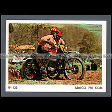 #MTP133 ★ FRIDOLIN ENDER / A. GRABER SIDE-CAR CROSS ★ Carte Moto Motorcycle card