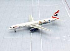 NG model 1/400 British Airways Boeing 757-200 G-CPEM Blue Peter metal miniature