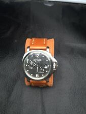 PARNIS Marina Militare Power Reserve reloj automático 45 mm para hombre Regatta Seagull