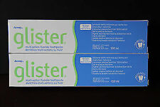 2 Amway Glister 150ml Multi-Action Fluoride Toothpaste