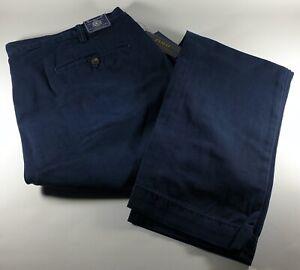 New Authentic Polo Ralph Lauren Men's Slim Fit Cotton Chino Pants 40Wx32L SALE