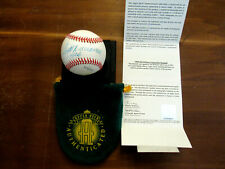 TED WILLIAMS .406 BOSTON RED SOX HOF SIGNED AUTO VINTAGE OAL BASEBALL UDA BOX
