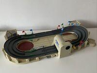 Vintage 1999 Micro Machines Rally Racing Track Toy Playset & 2 Cars Rare Galoob