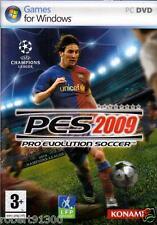 JEU PC DVD ROM../...PRO EVOLUTION SOCCER 2009.../...