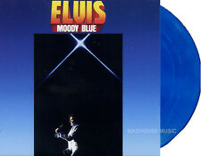 ELVIS PRESLEY LP Moody Blue 40th Anniversary - BLUE COLOURED Vinyl 2017 Sealed