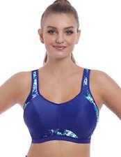 Freya active Epic Damen Sport BH Crop Top mit Bügel Gr 75 F starker Halt blau
