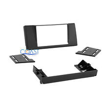 Car Stereo Radio Double DIN Installation Dash Kit for 1997-2003 BMW 5 Series