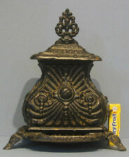 OLD TOY CAST IRON PARLOR STOVE PAT. 1857  * THE PET * AUTHENTIC ***ON SALE***