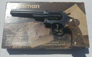 Crosman 38T/.177 6 Shot Pellet CO2 Double Action Revolver