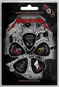 Metallica Guitars  5 Plectrum Pack (rz)