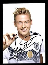 Julian Brand  DFB Autogrammkarte WM 2018 Russland +A 177017 D