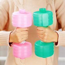 Women Child Water Dumbbell Portable 2kg Arm Muscle Plastic Lose Weight Fitness