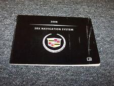 2008 Cadillac SRX Crossover Navigation System Owner Operator Guide Manual V6 V8