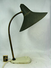 Adjustable 50´s stilnovo design table lamp # schöne verstellbare Tisch Lampe