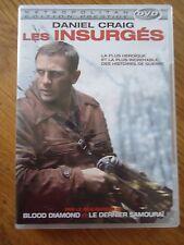 DVD * LES INSURGES * Daniel CRAIG  Edward ZWICK Liev SCHREIBER GUERRE RESISTANCE