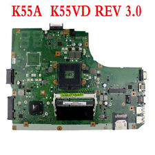 For Asus K55A U57A Motherboard K55VD Mainboard 60-N89MB1301 69N0M6M13A05 USA