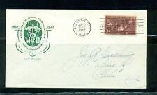 1947 AMA issue #949 addressed House of Farnum FDC