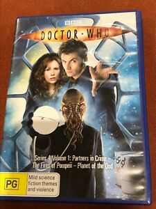 Doctor Who Series 4 Volume 1 DVD Region 4 AUS