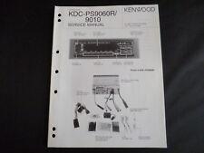 Original Service Manual Kenwood KDC-PS9060R/9010