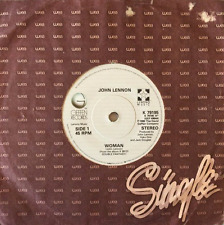 "JOHN LENNON - Woman (7"") (VG++/G)"