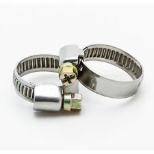 Stainless Steel Hose Clips Pipe Clamps for fuel  - Jubilee Shape Clamp