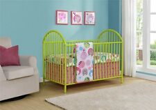 Cosco Prism Metal Crib, Lime Green 5852396PCOM Crib NEW