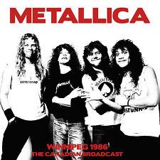 METALLICA 2019 UNRELEASED LIVE 1986 WINNIPEG CANADA CONCERT 2 VINYL RECORD SET