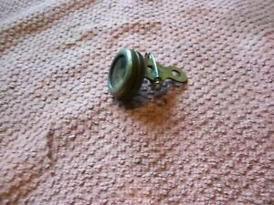 Vintage Marble's Pin On Brass Compass Gladstone Mich. USA Outdoor Hiking Camping