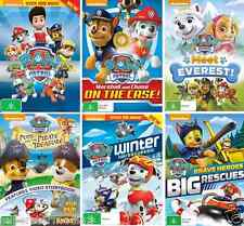 PAW PATROL - Marshall & Chase On The Case - Winter Rescue - Meet Ever  NEW 6 DVD